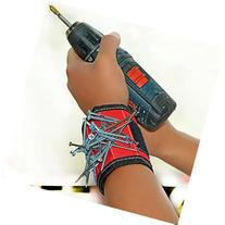 Danslesbls Super Magnetic Wristband, Keeps Screws, Nails and