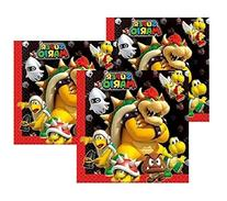 Super Mario Bros Bowser and Friends Dinner Napkins  by Party