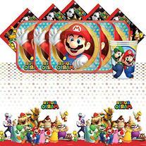 Super Mario Bros Nintendo Children's Birthday Complete Party