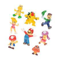 "OliaDesign Super Mario Brothers Figures Set , 1.5"" Small"