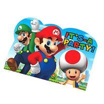 American Greetings Super Mario Invite Postcards
