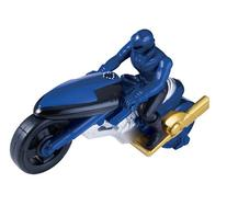 Power Rangers Super Megaforce Time Force Cycle and Blue