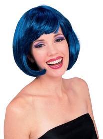 Rubie's Costume Super Model Wig, Blue, One Size