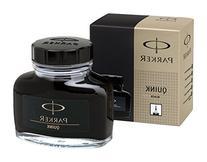 PARKER QUINK Ink Bottle, Black, 57 ml