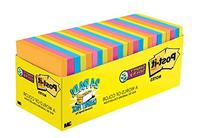 Post-it Super Sticky Notes, Rio de Janeiro Colors, 2X the