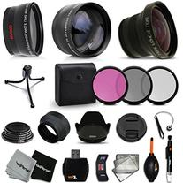 58mm Lens + Accessory Kit for CANON EOS Rebel T6i T6S T5i