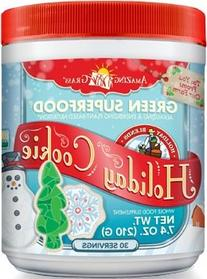Amazing Grass, Green Superfood Holiday Cookie, 8.5 Ounce