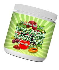 Superfood Powder Total BodyBrite for diet, weight loss,