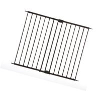 North States Supergate Easy Swing and Lock Metal Gate, Matte