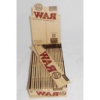 """3 X 12 """" Raw Supernatural Natural Unrefined Rolling Papers"""