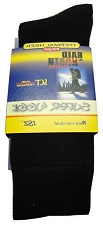 SuperWool Thermal Hiker II Merino Wool Socks  in Black