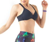 Lupo Women's Full Support Molded Wirefree Racerback Sports