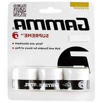 Gamma Supreme Overgrip, White