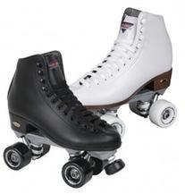 Sure-Grip Fame Roller Skates - White - Size 5