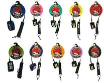 Surf More XM SUP Coiled Leash - Choice of Color and Size