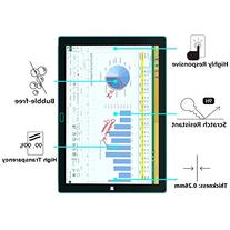 Surface Pro 3 Screen Protector, OMOTON Tempered Glass,