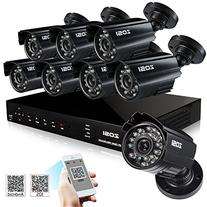ZOSI 8-Channel HD-TVI 720P 1080N Video Security DVR