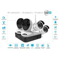 Vimtag Surveillance Kit - 2 P1 Indoor Cam, 2 B1 Outdoor Cam