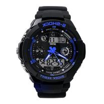 SKMEI Multi Function Military S-shock Sports Watch LED