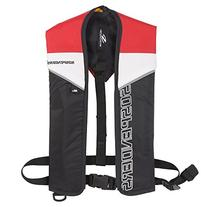 Stearns Suspenders Manual Inflatable Life Jacket, Red