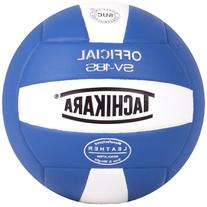 Tachikara Sv18s Composite Leather Volley Ball Royal/White