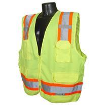 Radians SV62-2ZGT-L Class 2 Two Tone Surveyor Safety Vests,