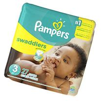 Pampers Swaddlers Diapers - Size 3 - 27 ct