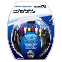 Swann SWADS-18MAVC 60-Feet RCA A/V and Power Extension for
