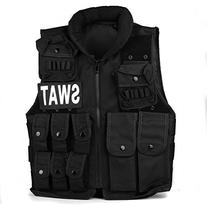 TOMOUNT SWAT Tactical Vest Paintball Army Combat Assault