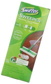 Sweeper 2 In 1 Mop And Broom Floor Cleaner Starter Kit,