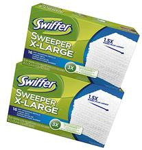 Swiffer Sweeper X-Large Dry Sweeping Cloths Refill - 16 ct