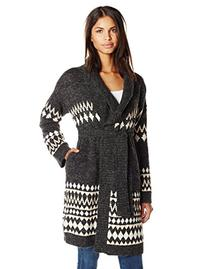 MINKPINK Women's Sweet Like Chocolate Cardigan, Multi, X-