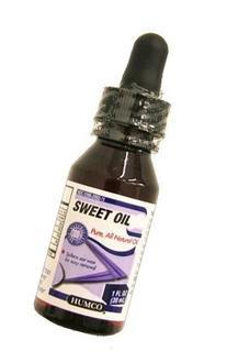 OLIVE SWEET OIL W/DROPPER 1 OZ