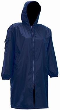 Adoretex Unisex Swim Parka-Navy/Black-Adult-X-Small