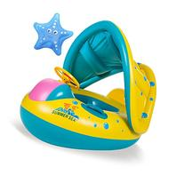 OTOO Baby Swimming Float Boat,Pool Floats with Sunshade