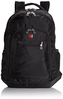 SwissGear SA9998 Black Computer Backpack - Fits Most 15 Inch
