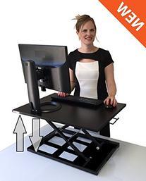 Standing Desk - X-Elite Pro Height Adjustable Desk Converter