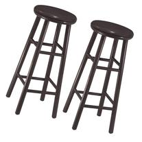Winsome 30 In Set Of 2 Swivel Bar Stools