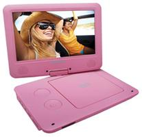 Sylvania 9-Inch Swivel Screen Portable DVD/CD/MP3 Player