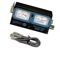 WORKMAN SWR-3P CB RADIO ANTENNA SWR / TEST METER WITH 3`