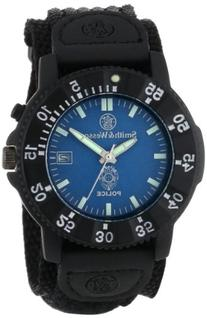 Smith & Wesson SWW-455P Police Watch with Blue Dial and