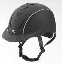 Ovation Sync Riding Helmet - Size:Small/Medium Color:Black