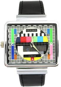 YouYouPifa Synthetic Leather Band Luxury Square TV Test