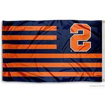 Syracuse Orange Nation Stripes Flag