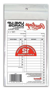 Rawlings System-17 Line-Up Cards