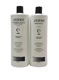 Nioxin System 1 Cleanser and Scalp Therapy Conditioner, 33.