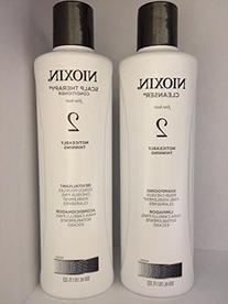 Nioxin System 2 Shampoo and Conditioner 33.8 Oz