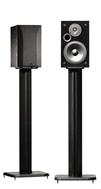 "SANUS BF31-B1 31"" Speaker Stands for Bookshelf Speakers up"