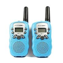 T-388 2Pcs 3-5KM 22 FRS and GMRS UHF Two-Way Radios for