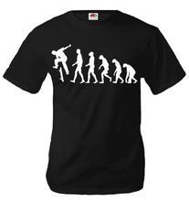 buXsbaum T-Shirt The Evolution of skate-XL-Black-White